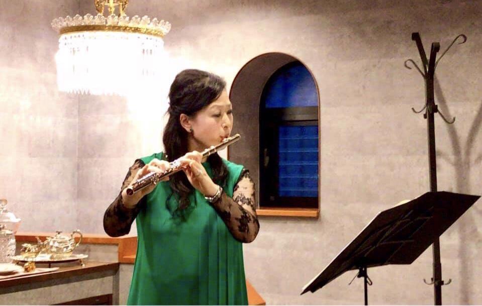 フルートとオールドバカラで奏でるジャポニズムの世界