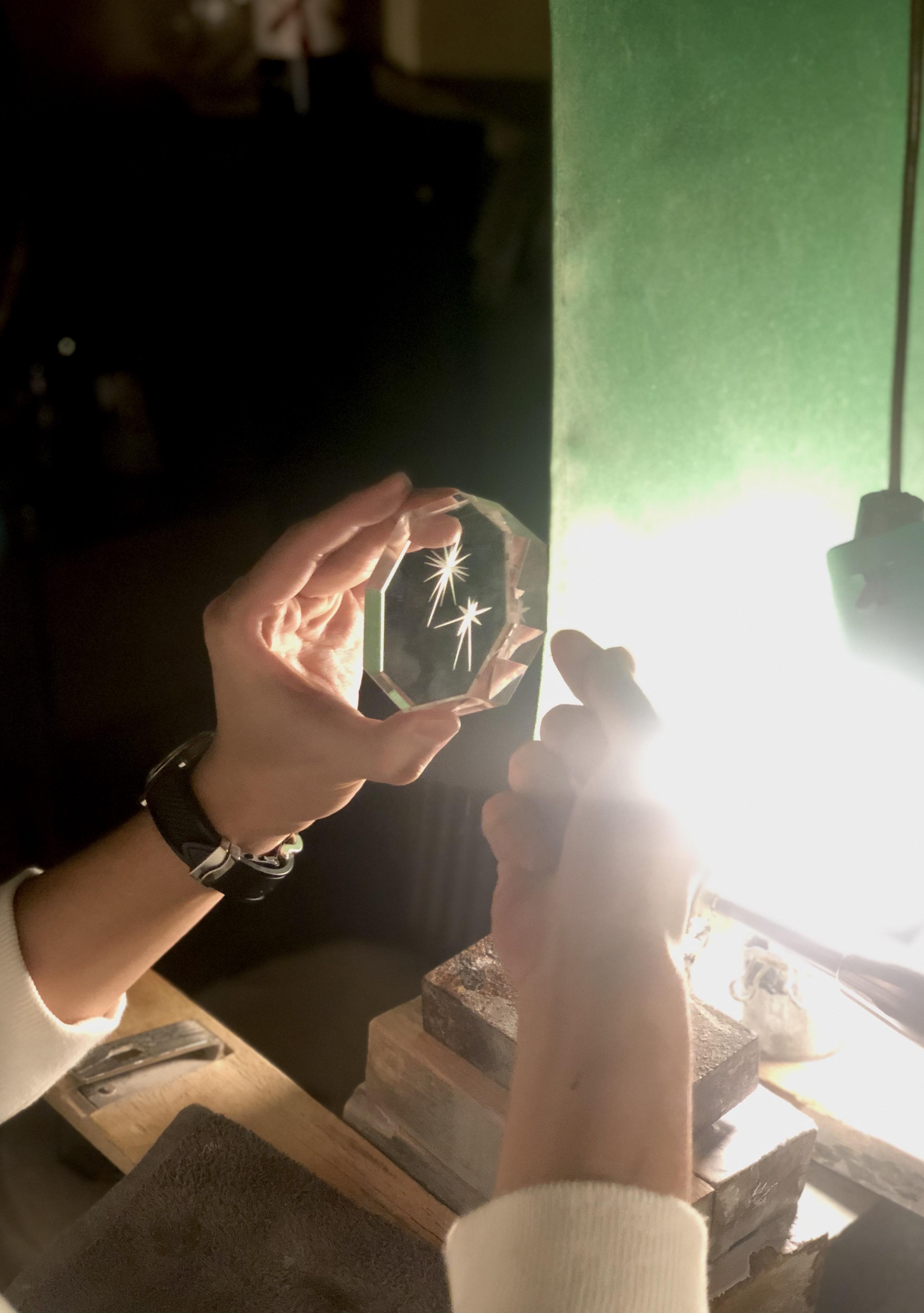 根本硝子工芸さんの職人技術 Part 2