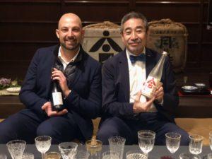 ウーリエ氏と増田氏